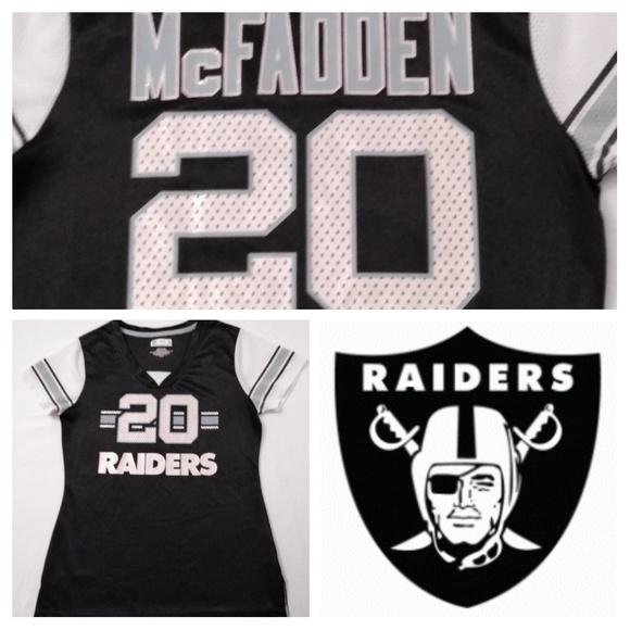 hot sale online 8a106 14e6f Oakland Raiders McFadden #20 NFL Women's Jersey